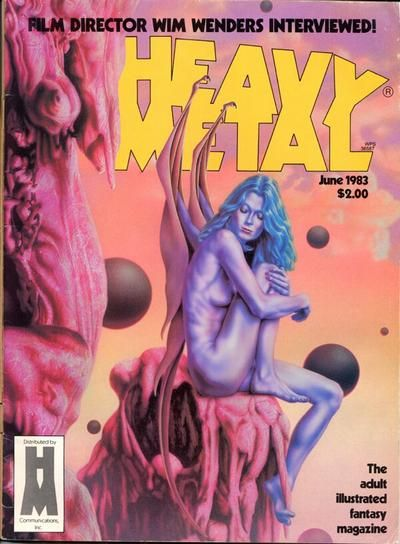 Cover for Heavy Metal Magazine (Heavy Metal, 1977 series) #v7#3