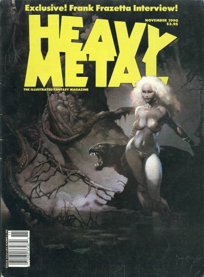 Cover for Heavy Metal Magazine (Heavy Metal, 1977 series) #v14#5