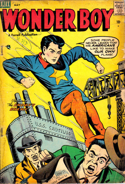 Cover for Wonder Boy (Farrell, 1955 series) #17