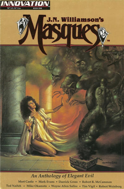 Cover for Masques (Innovation, 1992 series) #1