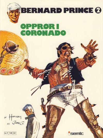 Cover for Bernard Prince (Semic, 1979 series) #2 - Opprør i Coronado