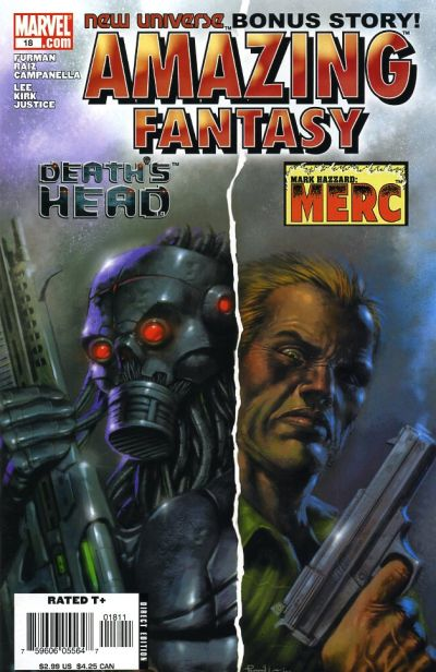 Cover for Amazing Fantasy (Marvel, 2004 series) #18