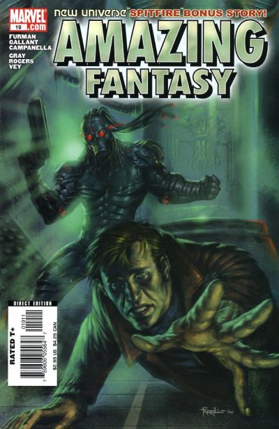 Cover for Amazing Fantasy (Marvel, 2004 series) #19