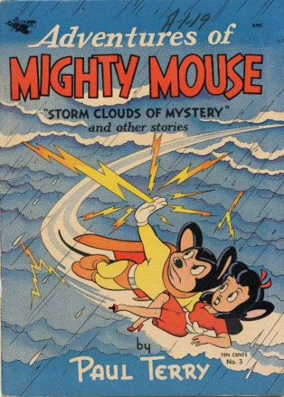 Cover for Adventures of Mighty Mouse (St. John, 1952 series) #3