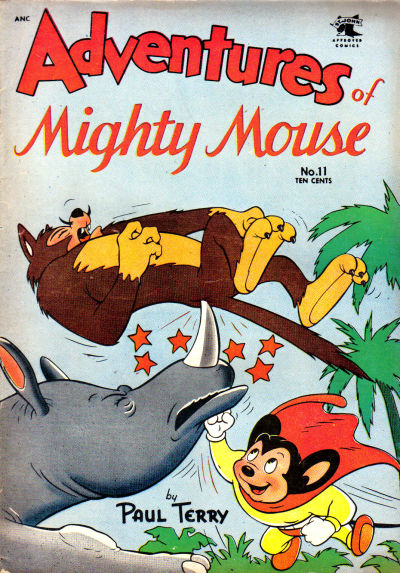Cover for Adventures of Mighty Mouse (St. John, 1952 series) #11