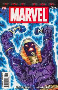 Cover Thumbnail for Marvel Universe: The End (Marvel, 2003 series) #2