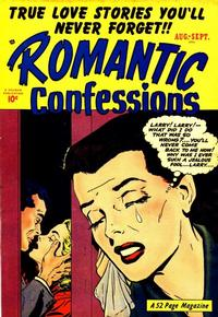 Cover Thumbnail for Romantic Confessions (Hillman, 1949 series) #v1#10