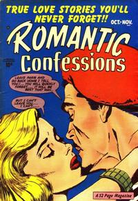 Cover Thumbnail for Romantic Confessions (Hillman, 1949 series) #v1#11