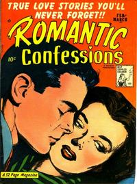 Cover Thumbnail for Romantic Confessions (Hillman, 1949 series) #v1#12