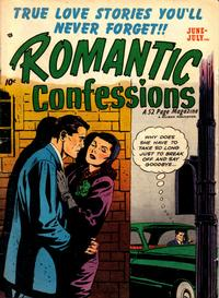 Cover Thumbnail for Romantic Confessions (Hillman, 1949 series) #v2#2