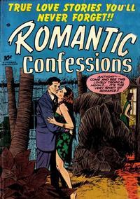Cover for Romantic Confessions (Hillman, 1949 series) #v2#3