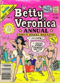 Cover Thumbnail for Betty and Veronica Annual Digest Magazine (Archie, 1989 series) #3