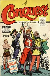 Cover Thumbnail for Conquest (Eastern Color, 1955 series) #1