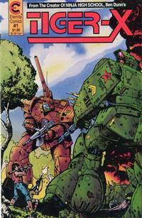 Cover Thumbnail for Tiger-X (Malibu, 1988 series) #1
