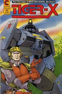 Cover Thumbnail for Tiger-X (Malibu, 1988 series) #2