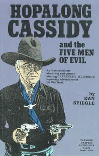 Cover Thumbnail for Hopalong Cassidy and the Five Men of Evil (AC, 1991 series)