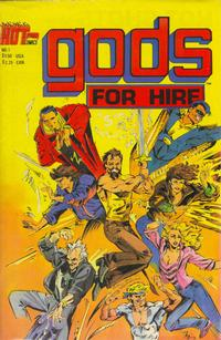 Cover Thumbnail for Gods for Hire (Hot Comics International, 1986 series) #1