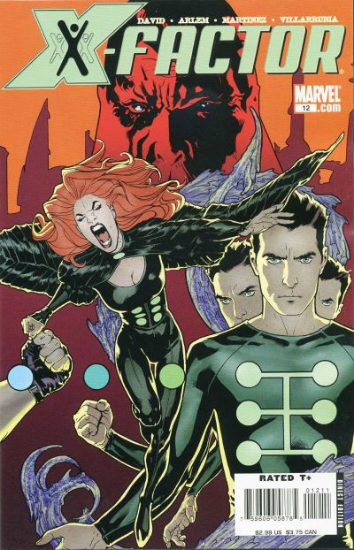 Cover for X-Factor (Marvel, 2006 series) #12