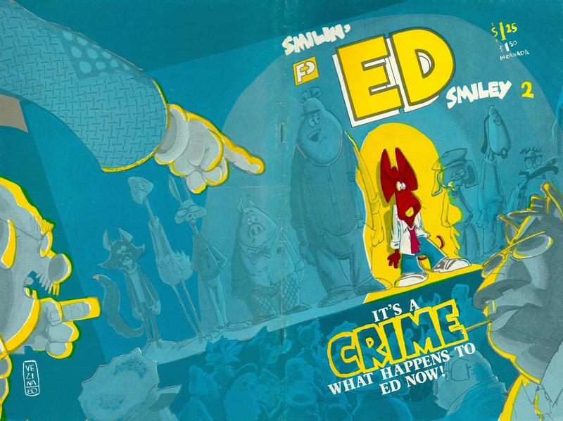 Cover for Smilin' Ed Comics (FantaCo Enterprises, 1980 series) #2