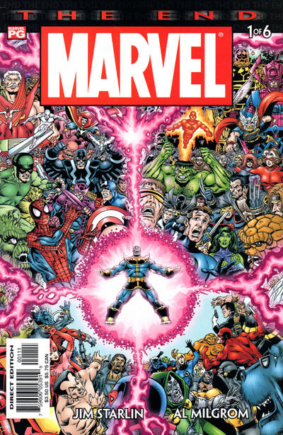 Cover for Marvel Universe: The End (Marvel, 2003 series) #1