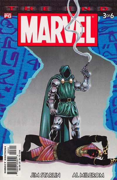 Cover for Marvel Universe: The End (Marvel, 2003 series) #3