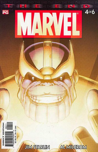 Cover for Marvel Universe: The End (Marvel, 2003 series) #4