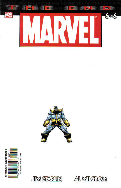 Cover for Marvel Universe: The End (Marvel, 2003 series) #6