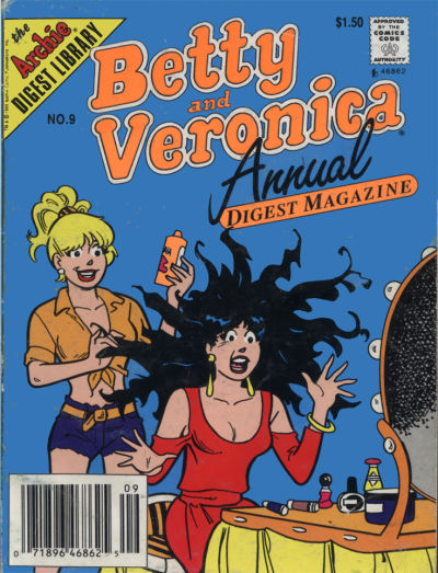 Cover for Betty and Veronica Annual Digest Magazine (Archie, 1989 series) #9