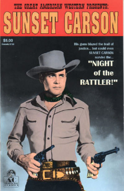 Cover for Great American Western (AC, 1987 series) #5