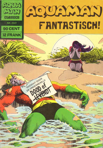 Cover for Aquaman Classics (Classics/Williams, 1969 series) #2527