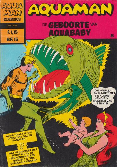 Cover for Aquaman Classics (Classics/Williams, 1969 series) #2536