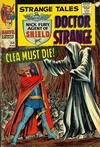 Cover for Strange Tales (Marvel, 1951 series) #154 [Regular Edition]