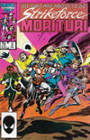 Cover for Strikeforce: Morituri (Marvel, 1986 series) #3 [Direct]