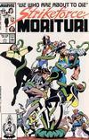 Cover for Strikeforce: Morituri (Marvel, 1986 series) #5 [Direct]