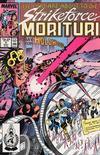 Cover for Strikeforce: Morituri (Marvel, 1986 series) #6 [Direct]