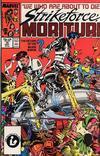 Cover for Strikeforce: Morituri (Marvel, 1986 series) #10