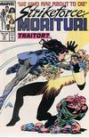 Cover for Strikeforce: Morituri (Marvel, 1986 series) #12