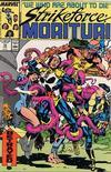 Cover for Strikeforce: Morituri (Marvel, 1986 series) #15