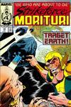Cover for Strikeforce: Morituri (Marvel, 1986 series) #22