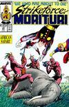 Cover for Strikeforce: Morituri (Marvel, 1986 series) #23