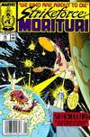 Cover for Strikeforce: Morituri (Marvel, 1986 series) #25