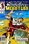 Cover for Strikeforce: Morituri (Marvel, 1986 series) #29