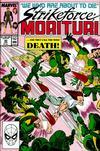 Cover for Strikeforce: Morituri (Marvel, 1986 series) #30
