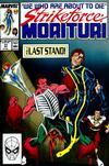 Cover for Strikeforce: Morituri (Marvel, 1986 series) #31