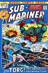 Cover for Sub-Mariner (Marvel, 1968 series) #55