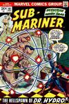 Cover for Sub-Mariner (Marvel, 1968 series) #61