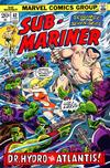 Cover for Sub-Mariner (Marvel, 1968 series) #62
