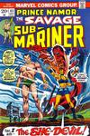 Cover for Sub-Mariner (Marvel, 1968 series) #65
