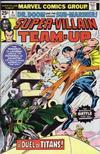 Cover for Super-Villain Team-Up (Marvel, 1975 series) #4