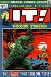 Cover for Supernatural Thrillers (Marvel, 1972 series) #1